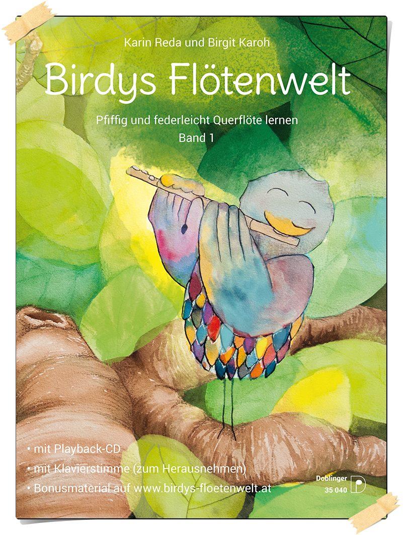 birdys flötenwelt  pfiffig und federleicht querflöte